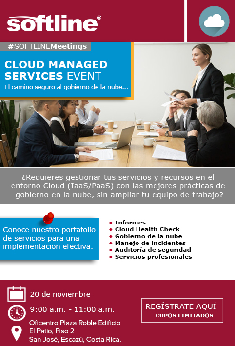 EVENTO CLOUD MANAGED SERVICES